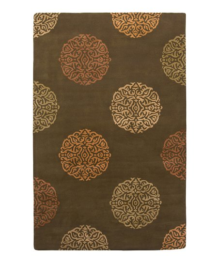 Brown Wool-Blend Mercer SoHo Rug