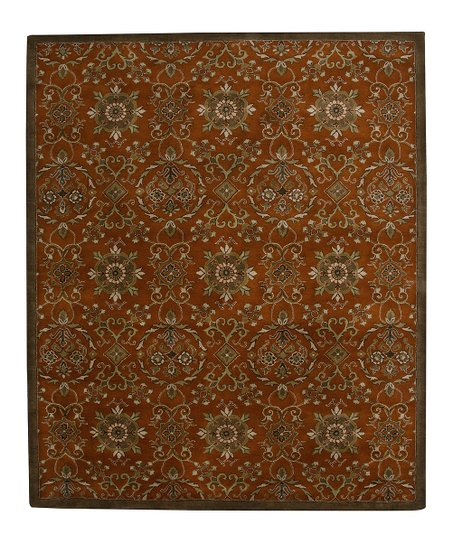 Pumpkin Wool-Blend Broome SoHo Rug
