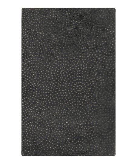 Pewter Wool-Blend Koenig Modern Rug