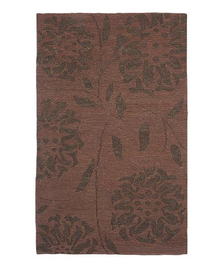 Rust Hemp Nevis Paradise Rug