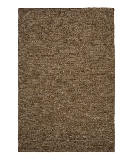 Ginger Brown Hemp Antigua Paradise Rug