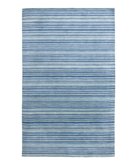 Royal Blue Wool Marchena Archipelago Rug