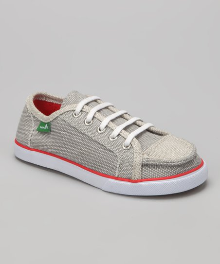 Gray Anthem Sneaker - Kids