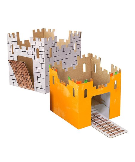 Drawbridge Castle Mini Playhouse & Mat