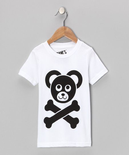 White Shiny Cam&#039;s Closet Logo Tee - Toddler &amp; Boys