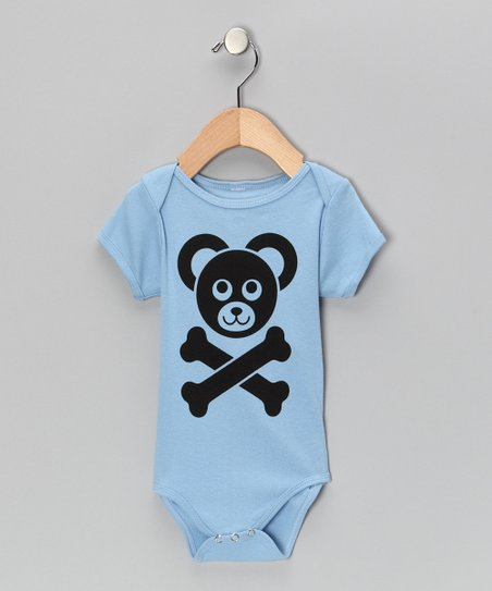 Blue Cam&#039;s Logo Bodysuit - Infant