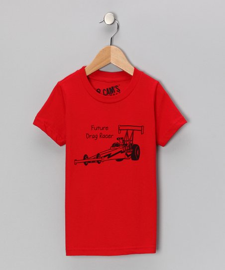 Red 'Future Drag Racer' Tee - Toddler & Boys