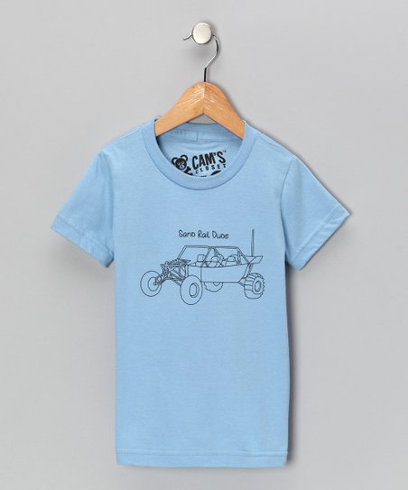 Blue 'Sand Rail Dude' Tee - Toddler & Boys