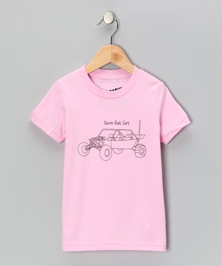 Pink 'Sand Rail Girl' Tee - Toddler & Girls