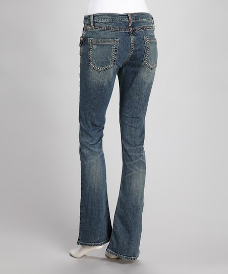 Indigo Arianna Relaxed-Fit Jeans