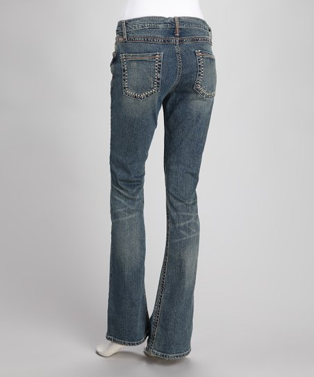 Indigo Arianna Stretch Slim-Fit Bootcut Jeans