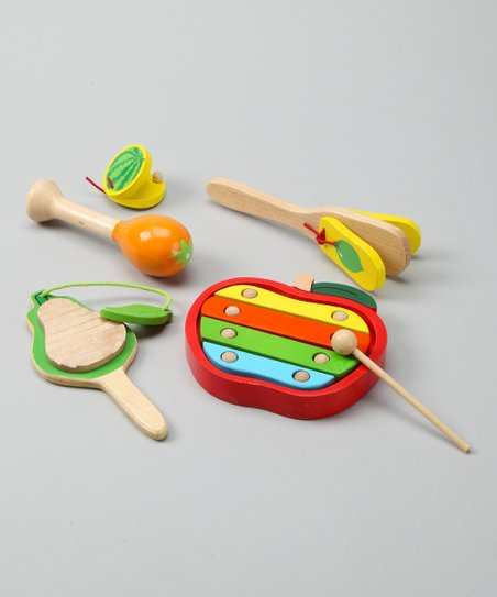 Fruit Music Instrument Set