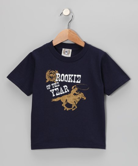 Navy 'Rookie of the Year' Tee - Toddler