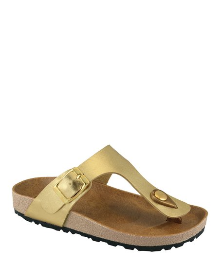Gold Walking Sandal