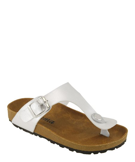 Silver Walking Sandal