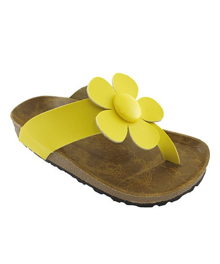 Yellow Daisy Sandal