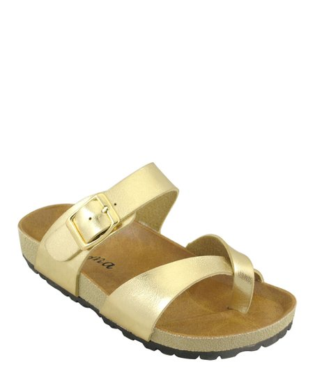 Gold Classic Walking Sandal