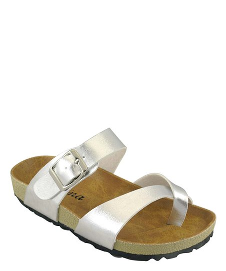 Silver Classic Walking Sandal