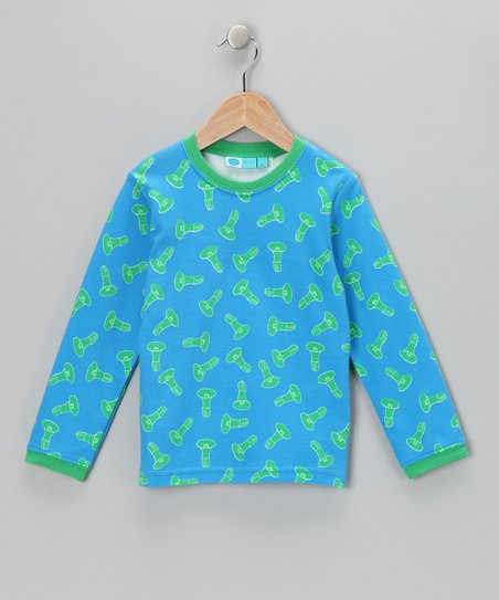 Blue Megaphone Organic Long-Sleeve Tee - Infant, Toddler & Boys