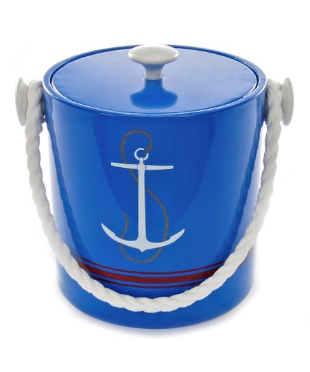 Specter Blue Anchor Ice Bucket