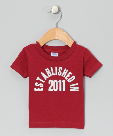 Cardinal &#039;Established in 2011&#039; Tee - Toddler