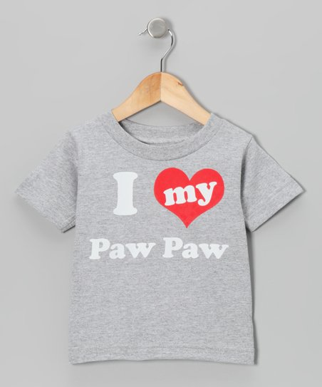 Heather 'I Love My Paw Paw' Tee - Toddler & Kids