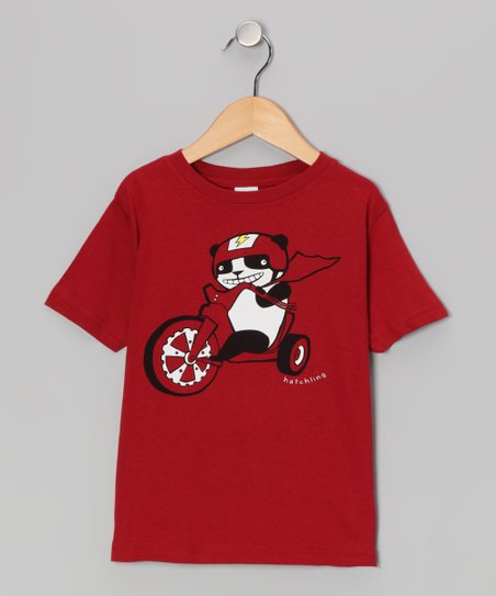 Garnet Panda Racer Tee - Toddler &amp; Boys