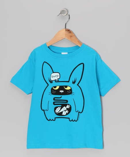 Turquoise Rabbit Food Tee - Toddler & Boys