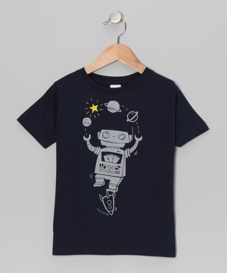 Navy Planet Juggle Tee - Toddler & Boys