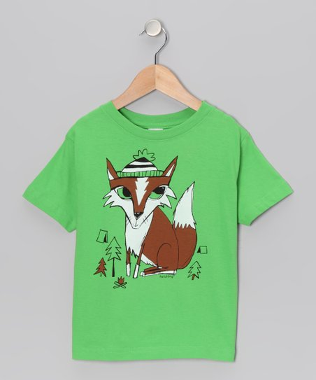 Green Apple Camper Tee - Toddler & Boys