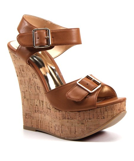 Biscuit Tak En Peep-Toe Wedge