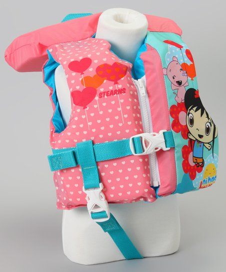 Peach Kai Lan Life Jacket - Infant
