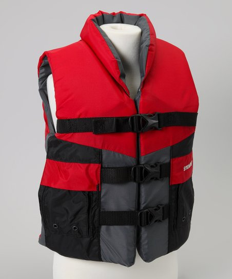 Red High Perk Life Jacket - Kids