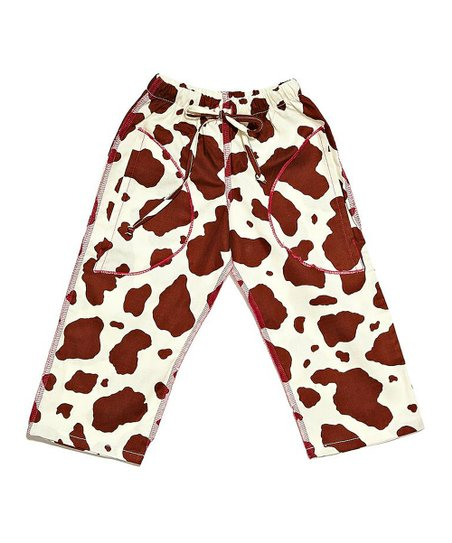 Brown & Pink Cheetah Pants - Infant & Toddler