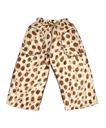 Tan Cheetah Pants - Infant & Toddler