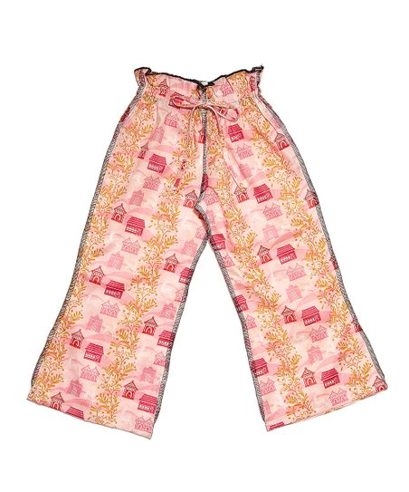 Pink Bird House Ceca Pants - Infant, Toddler & Girls
