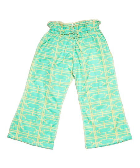 Turquoise Turkus Pants - Infant, Toddler & Girls