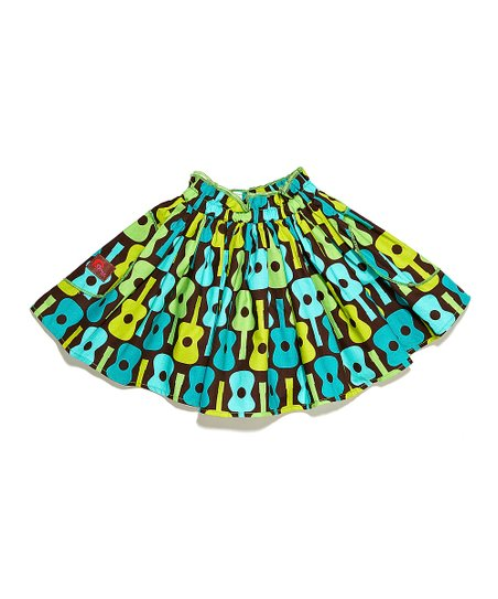 Turquoise Guitar Skirt - Infant, Toddler & Girls