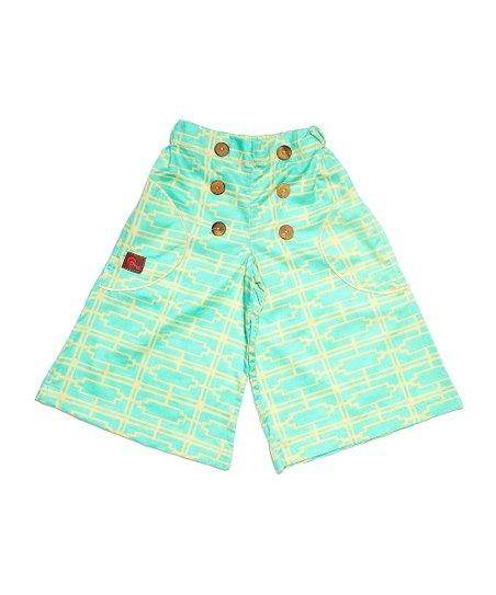 Turquoise Turkus Palazzo Pants - Infant, Toddler & Girls