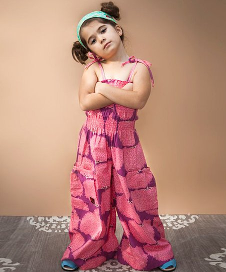 Pink Tree Jumpsuit - Infant, Toddler & Girls