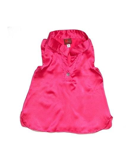 Pink Silk Racerback Tank - Infant & Toddler