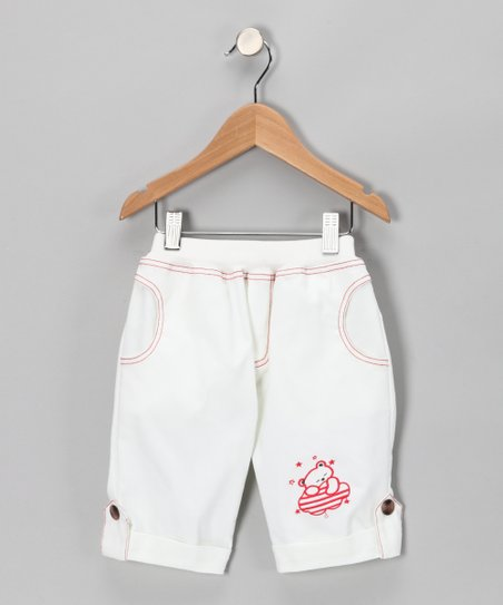Soft White Pants - Infant, Toddler & Girls