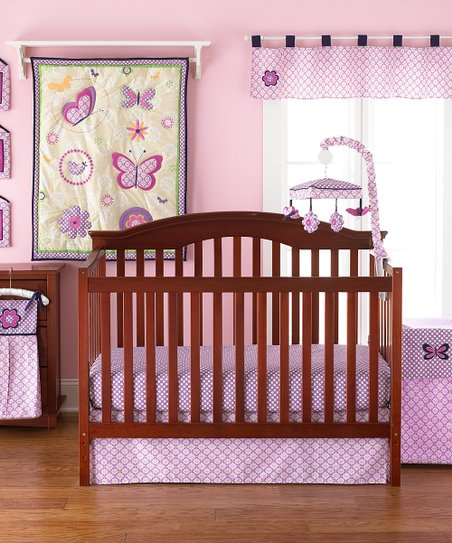 Flutter 4-Piece Crib Bedding Set