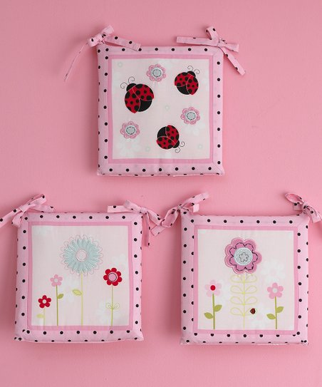 Pretty in Pink Wall Art Set