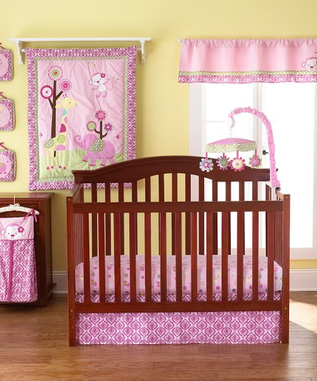 Selvalicious 8-Piece Crib Bedding Set