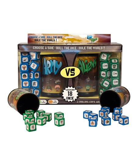 Army vs. Aliens Dice Game