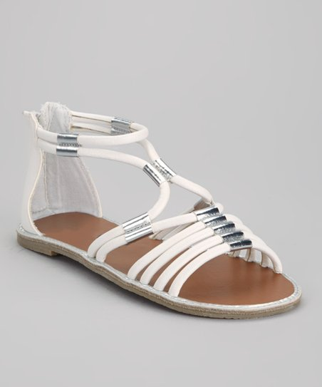 White Miss Zara Sandal