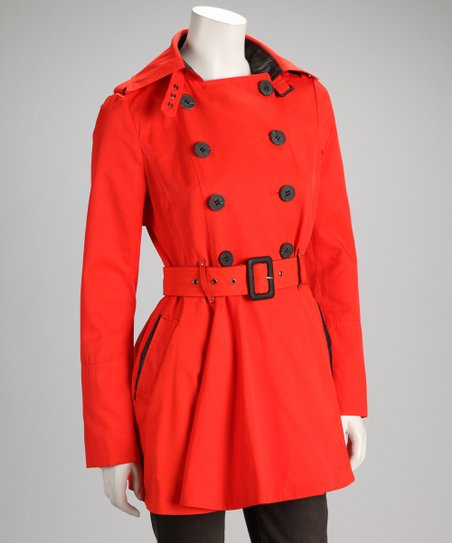 Spice Trench Coat