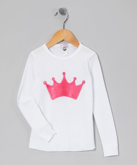 White Tiara Thermal - Infant & Girls
