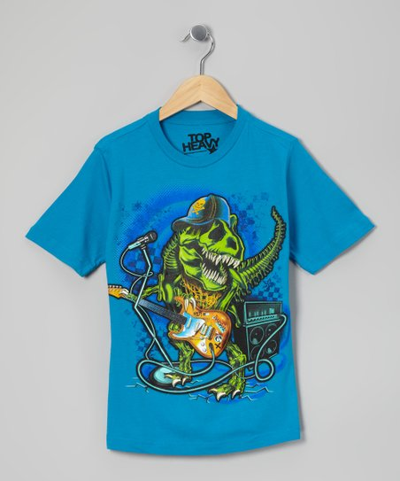 Blue Real Rock Tee - Boys